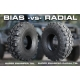 Технология радиальных шин. Преимущество радиальных шин над диагональными.