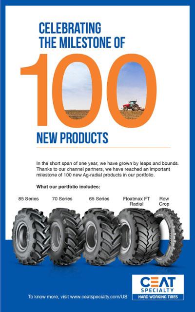 100 радиальных колес за 1 год